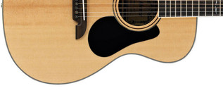 Alvarez AF70 Folk OOO Acoustic Guitar, Natural Lower Body