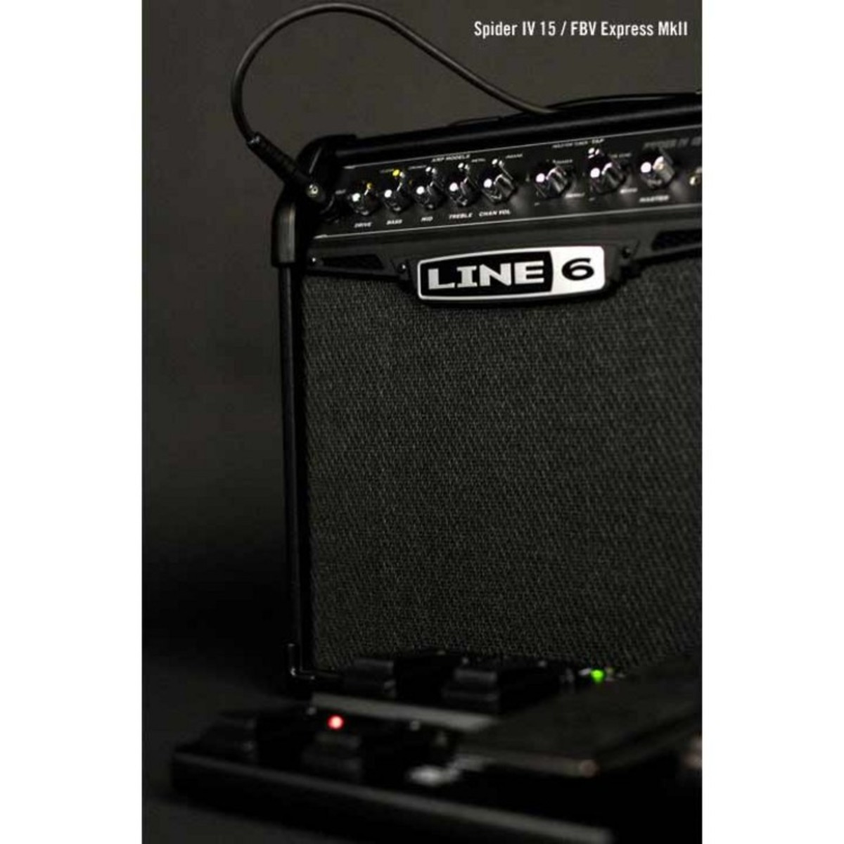 line 6 spider iv 15 guitar combo amp nearly new at. Black Bedroom Furniture Sets. Home Design Ideas