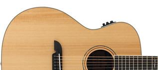 Alvarez AG60CE Grand Auditorium Electro Acoustic Guitar, Natural Upper Body