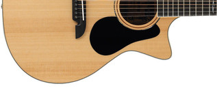 Alvarez AG60CE Grand Auditorium Electro Acoustic Guitar, Natural Lower Body
