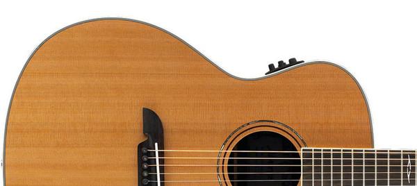 Alvarez AG75CE Grand Auditorium Electro Acoustic Guitar, Natural Upper Body