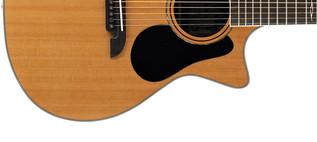 Alvarez AG75CE Grand Auditorium Electro Acoustic Guitar, Natural Lower Body