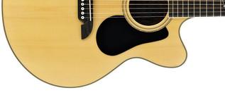 Alvarez AJ80CE Jumbo Electro Acoustic Guitar, Natural Lower Body