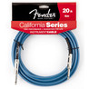 Fender California Instrument Cable, Lake Placid Blue, 6m