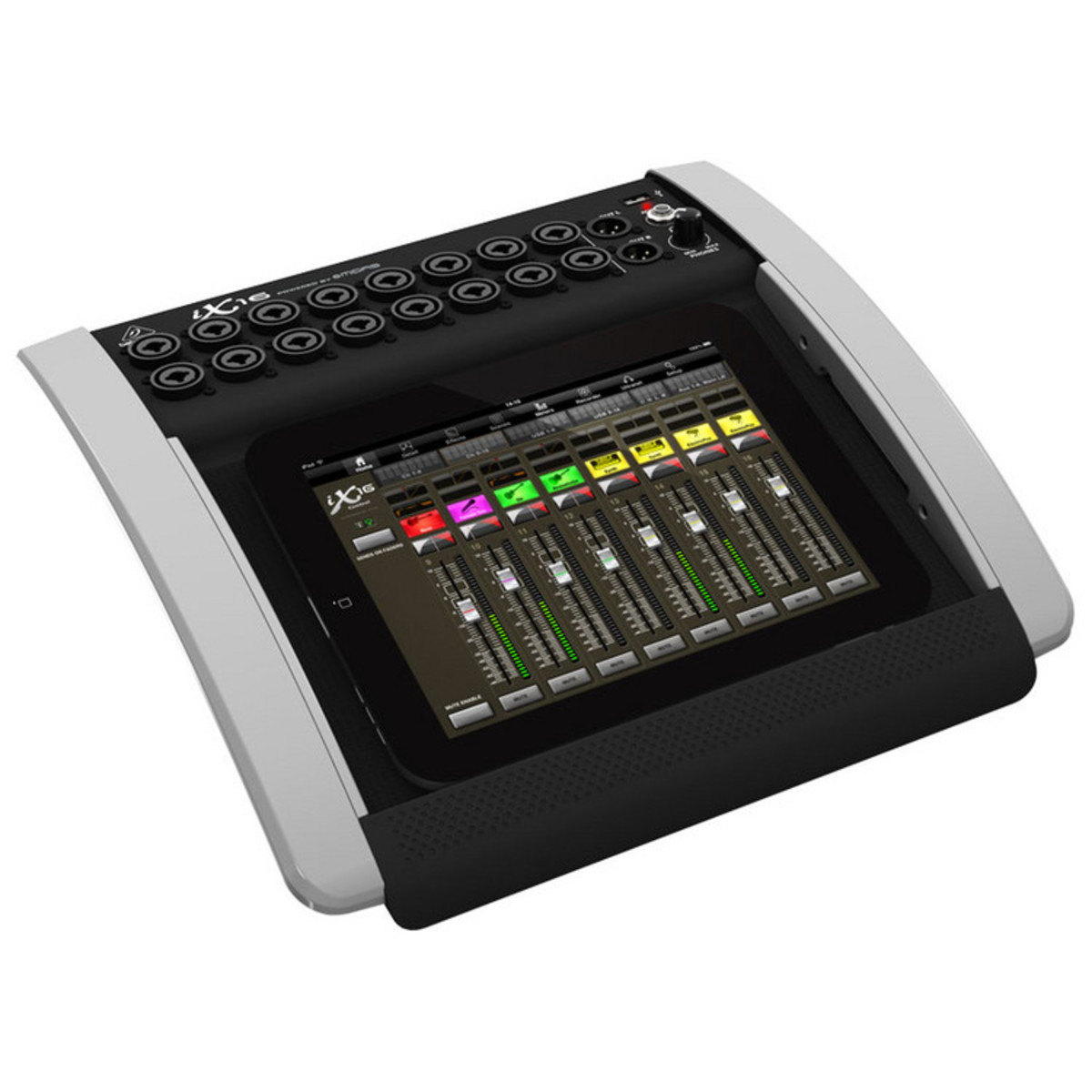 behringer ix16 digital ipad tablet mixer at. Black Bedroom Furniture Sets. Home Design Ideas