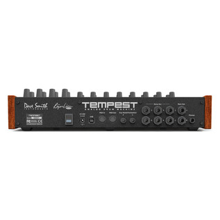 Dave Smith Instruments Tempest Analogue Drum Machine Rear