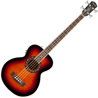 Fender T-Bucket Bass E Electro Acoustic Bass Guitar, 3-Color Sunburst