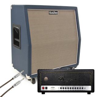 Bugera 1990 Infinium 120W with SubZero 4x10 Celestion Speaker Cabinet