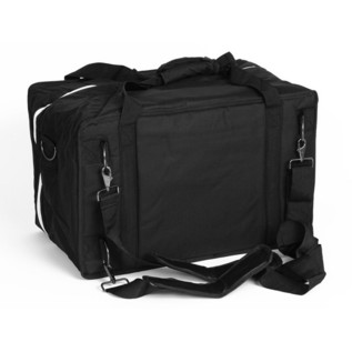 Sela Cajon Bag Nylonbag, Black Rear