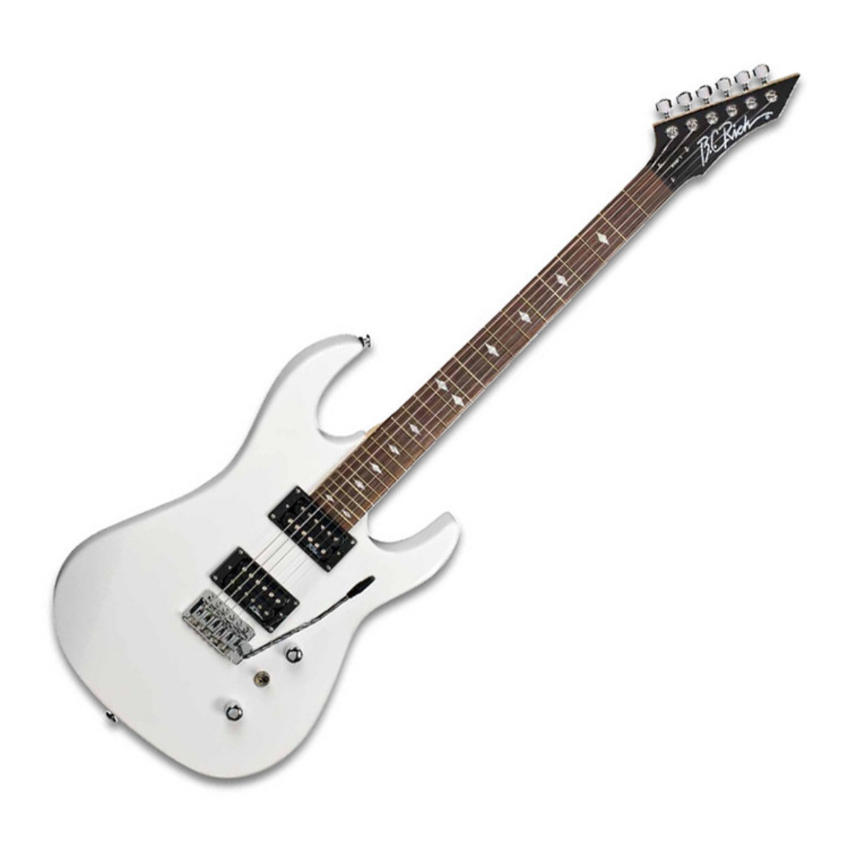 disc bc rich asm one electric guitar white with multi fx. Black Bedroom Furniture Sets. Home Design Ideas