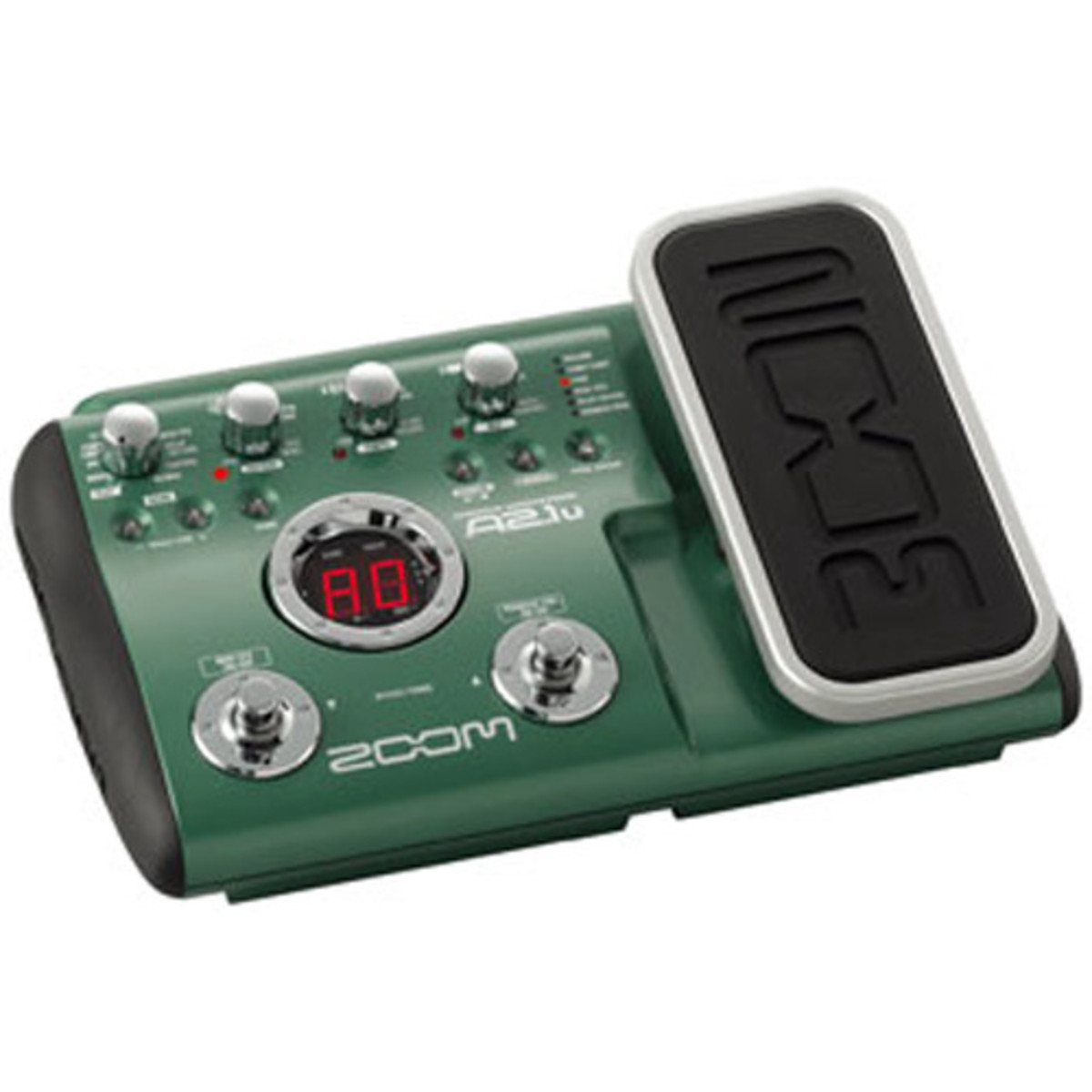 disc zoom a2 1u guitar effects pedal with usb at. Black Bedroom Furniture Sets. Home Design Ideas
