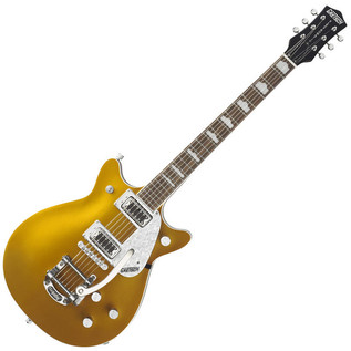 Gretsch G5448T Double Jet Electric Guitar with Bigsby, Gold