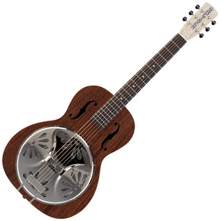 Gretsch G9200 Boxcar Resonator Guitar, Round Neck, Natural