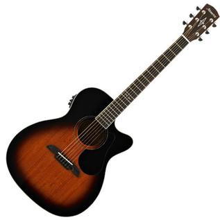 Alvarez AF66CESB OM/Folk Electro-Acoustic, Sunburst