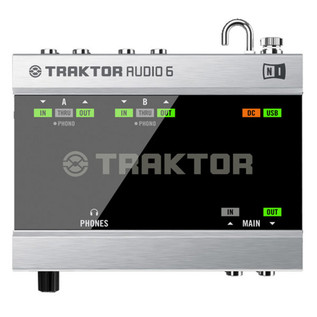 Native Instruments Traktor Scratch A6 USB Audio Interface
