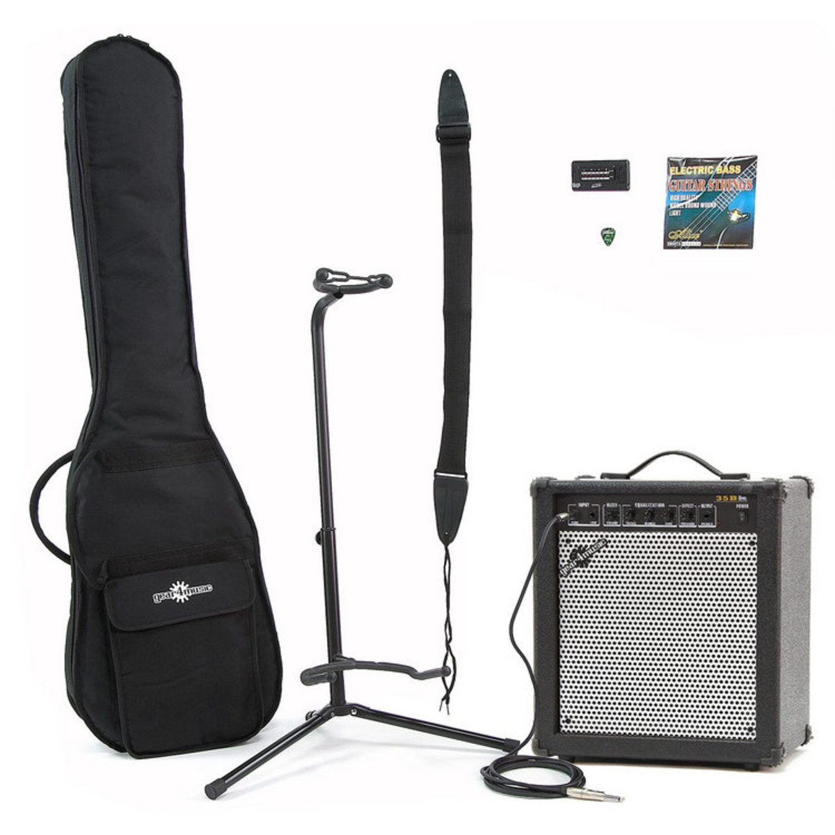 Image of 35 Watt Bass Amp & Accessory Pack