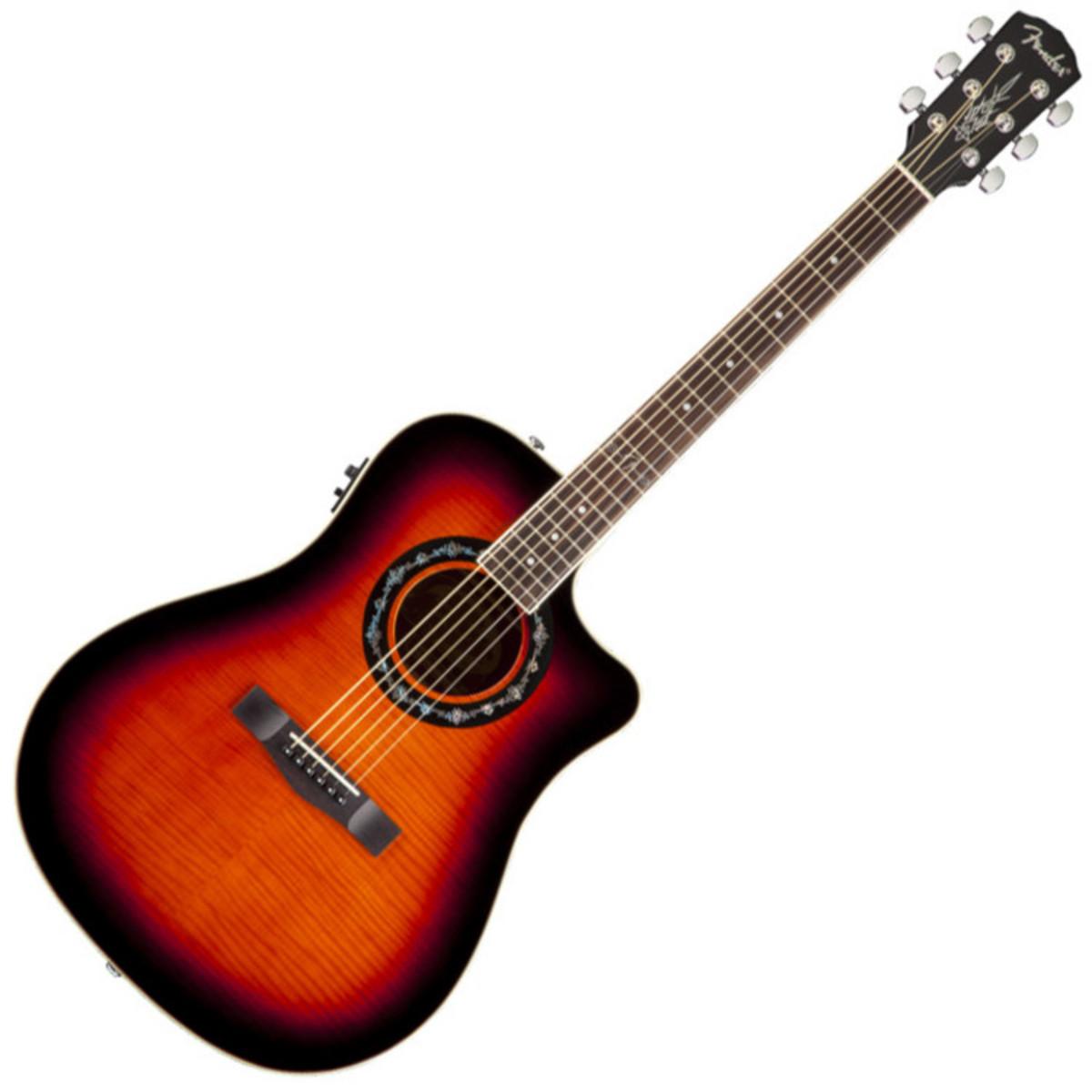 fender t bucket 300 ce electro acoustic guitar 3 color sunburst at. Black Bedroom Furniture Sets. Home Design Ideas