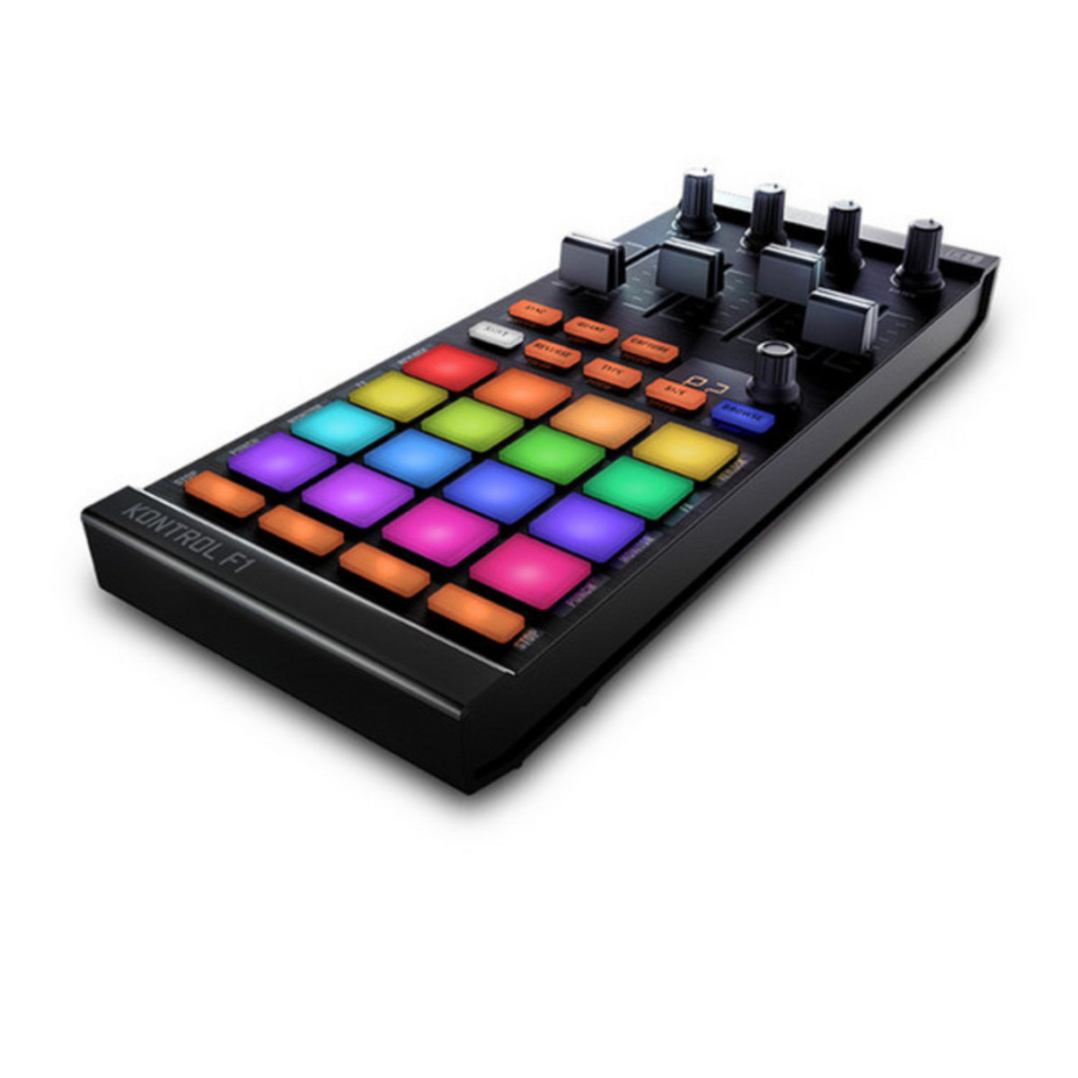 native instruments traktor kontrol f1 dj controller stand at. Black Bedroom Furniture Sets. Home Design Ideas