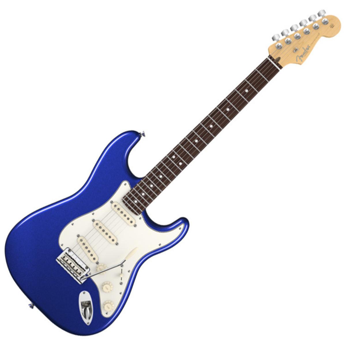 fender american standard stratocaster electric guitar mystic blue at. Black Bedroom Furniture Sets. Home Design Ideas