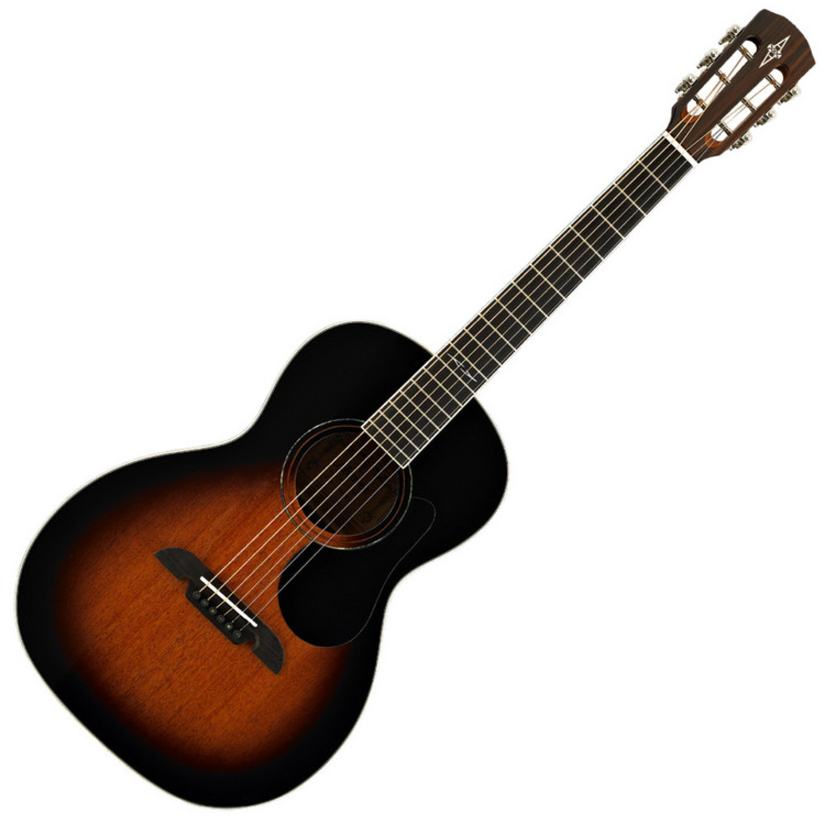 alvarez ap66 parlor acoustic guitar sunburst at. Black Bedroom Furniture Sets. Home Design Ideas