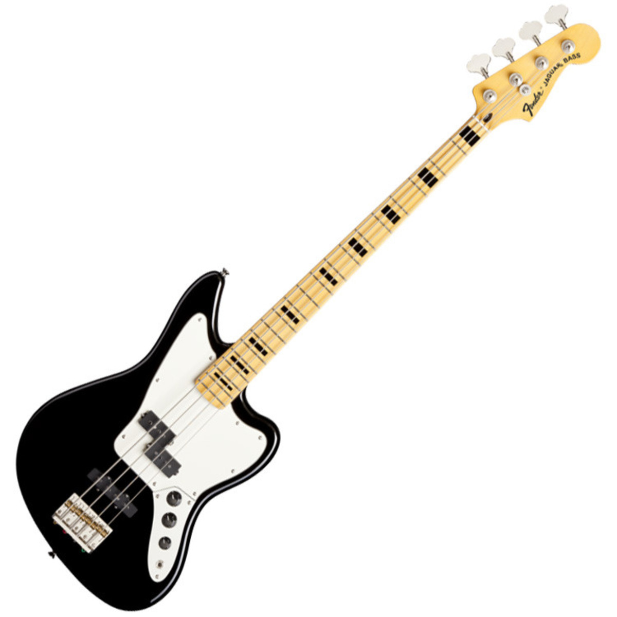 fender modern player jaguar bass guitar black at. Black Bedroom Furniture Sets. Home Design Ideas