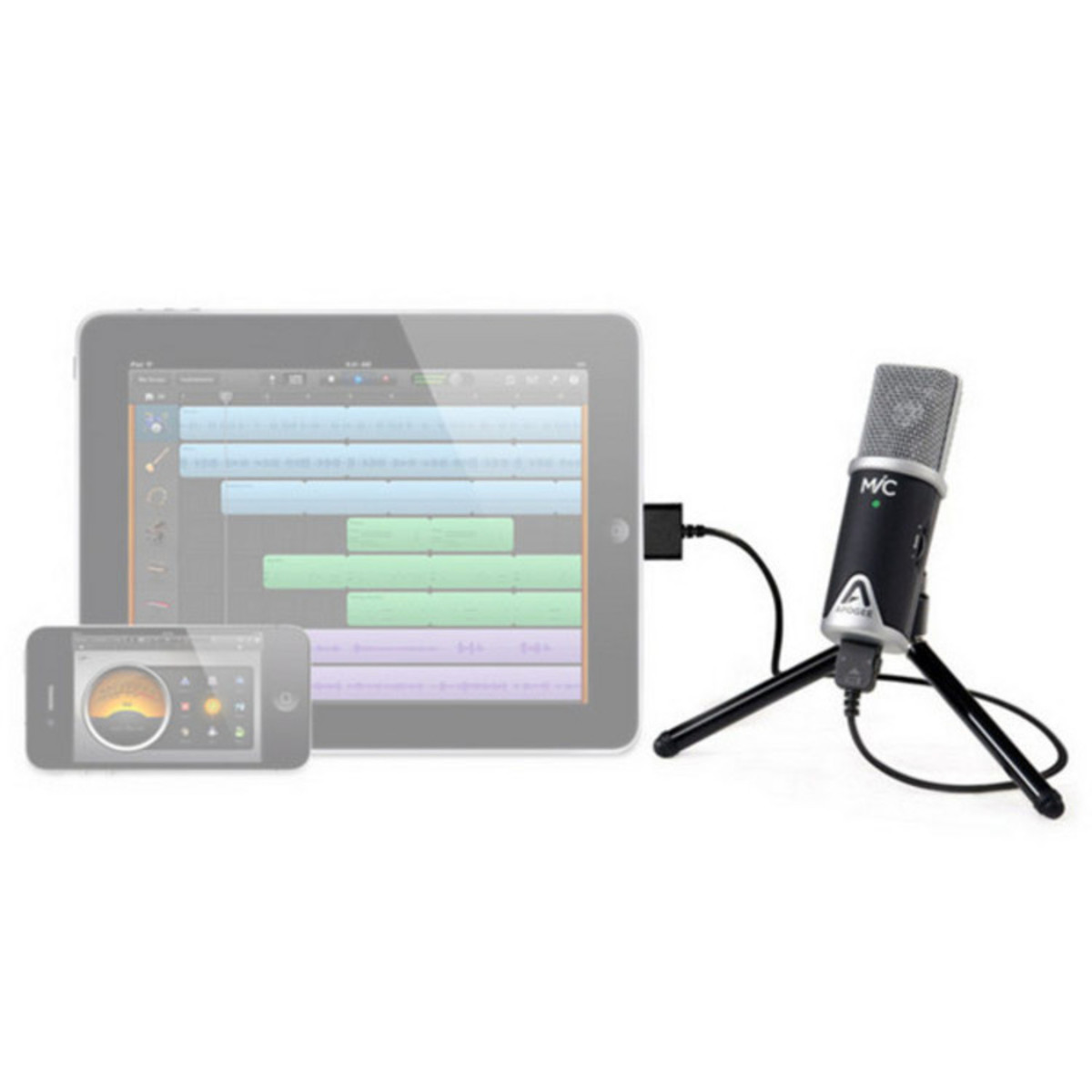 apogee mic usb microphone for ipad iphone and mac at. Black Bedroom Furniture Sets. Home Design Ideas