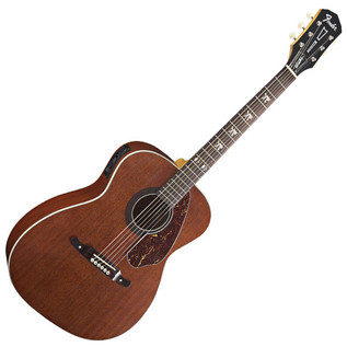 Fender Tim Armstrong Hellcat Electro Acoustic Guitar, Natural