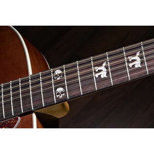 Fender Tim Armstrong Hellcat Electro Acoustic Guitar, Natural Inlays