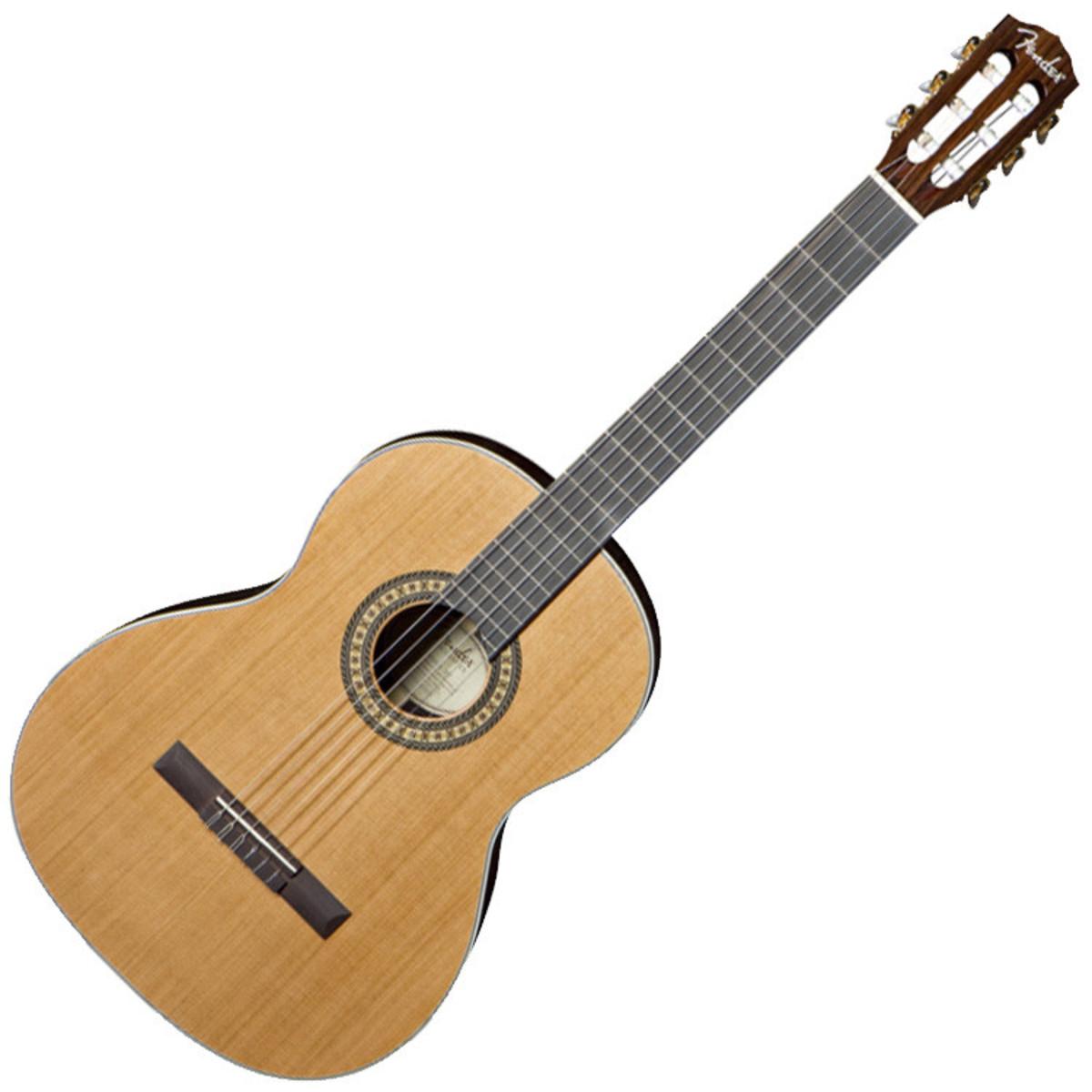 fender cn 320 as tous guitare classique massif naturel. Black Bedroom Furniture Sets. Home Design Ideas