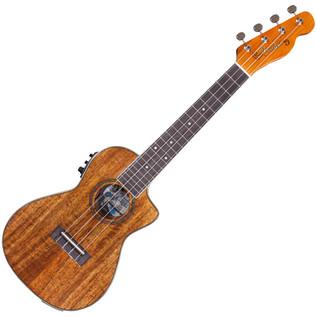 Fender Ukulele Mino'Aka Concert Electro-Acoustic Ukulele, Natural