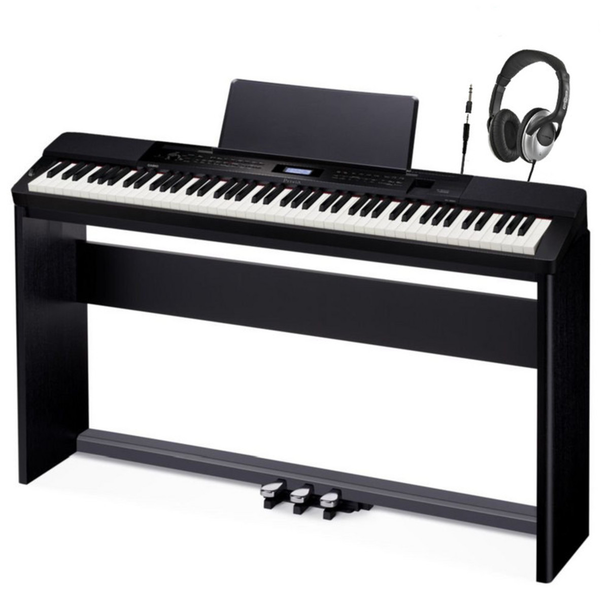 casio privia px 350 digital piano complete pack at. Black Bedroom Furniture Sets. Home Design Ideas