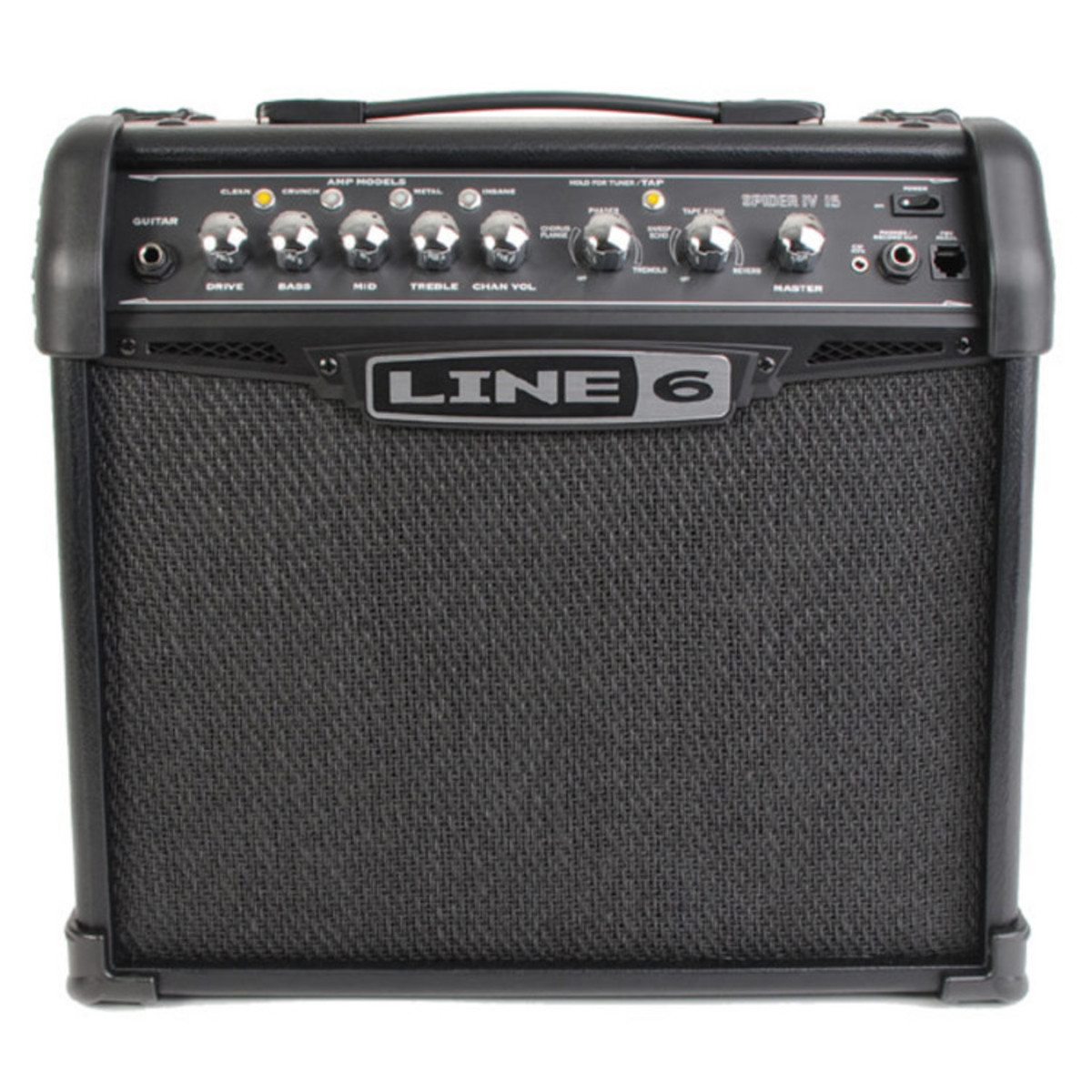 line 6 spider iv 15 guitar combo amp at. Black Bedroom Furniture Sets. Home Design Ideas