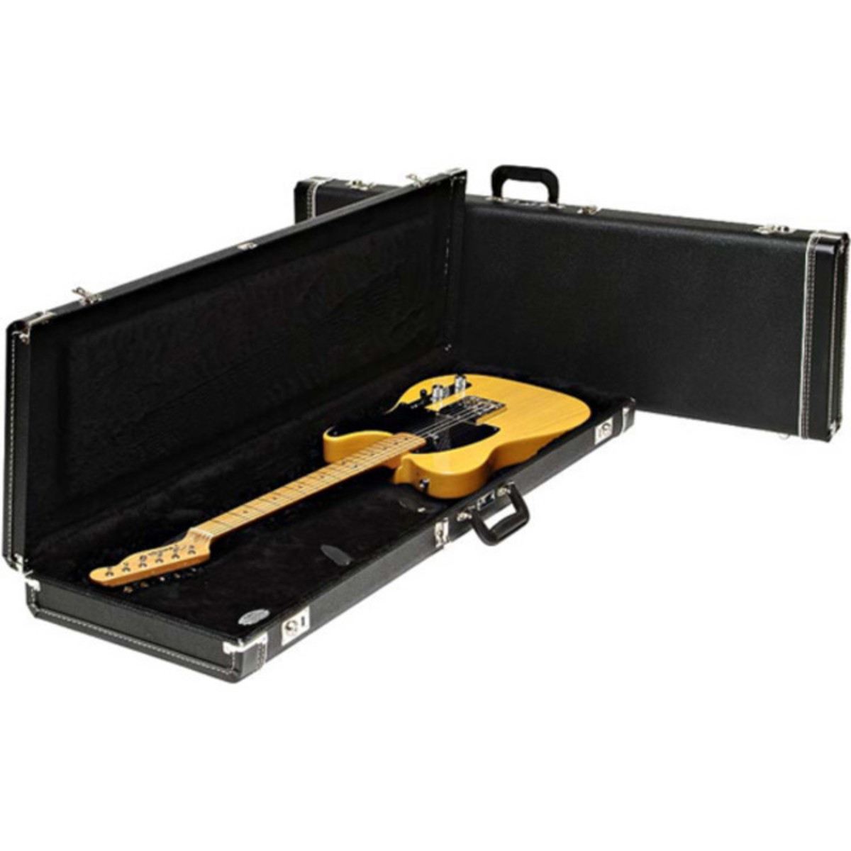fender multi fit guitar case for mustang jag stang cyclone black at. Black Bedroom Furniture Sets. Home Design Ideas