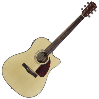 Fender CD-140SCE Dreadnought Cutaway Electro Acoustic Guitar, Natural