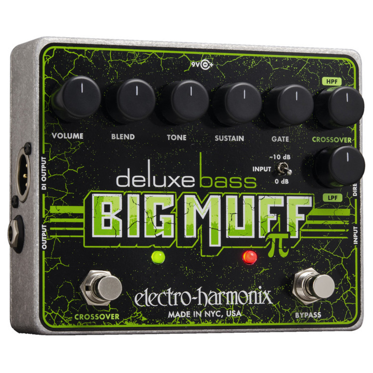 electro harmonix deluxe bass big muff pi effects pedal nearly new at. Black Bedroom Furniture Sets. Home Design Ideas