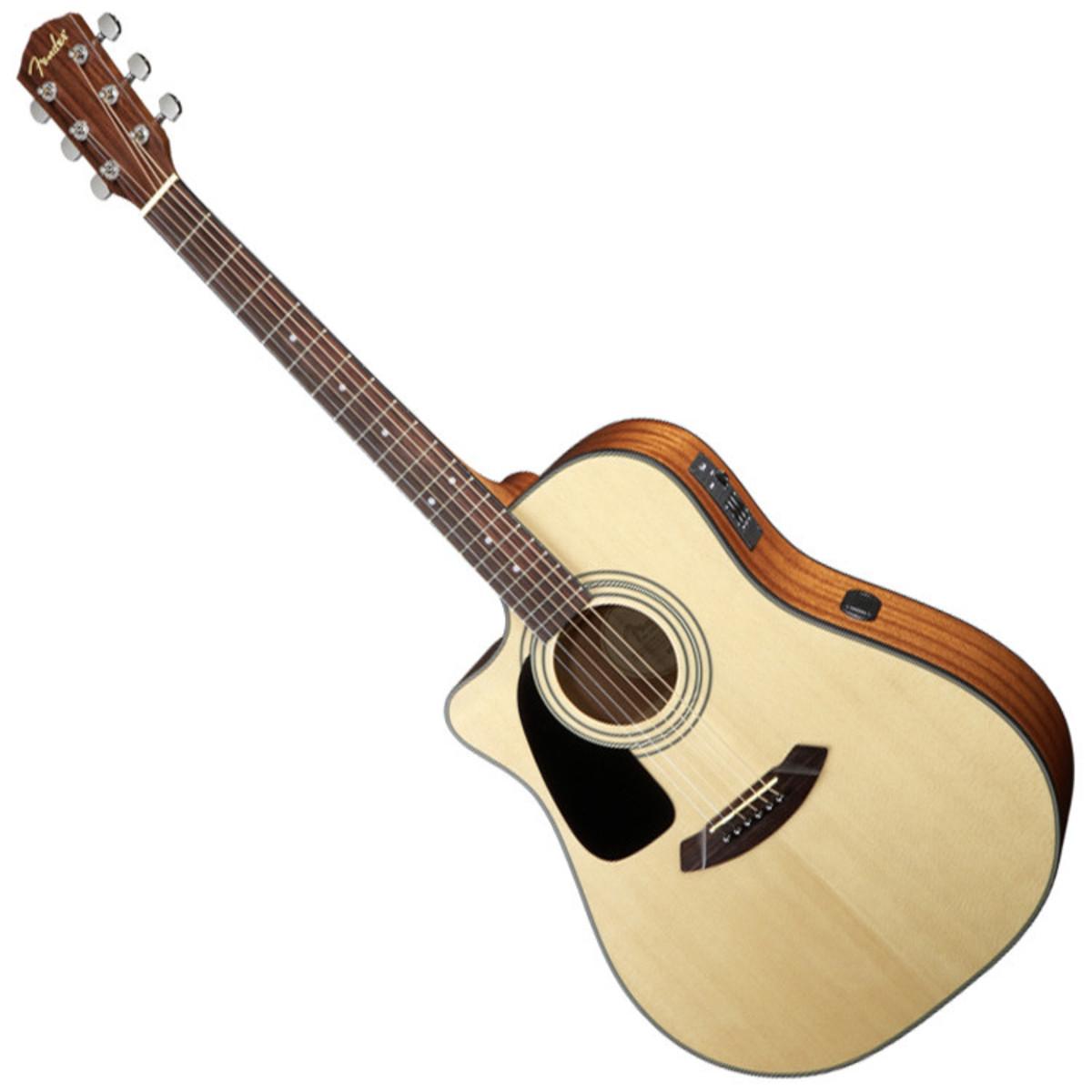 fender cd 100ce lh left handed electro acoustic guitar natural at. Black Bedroom Furniture Sets. Home Design Ideas