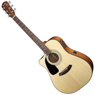 Fender CD-100CE-LH Left-Handed Electro Acoustic Guitar, Natural