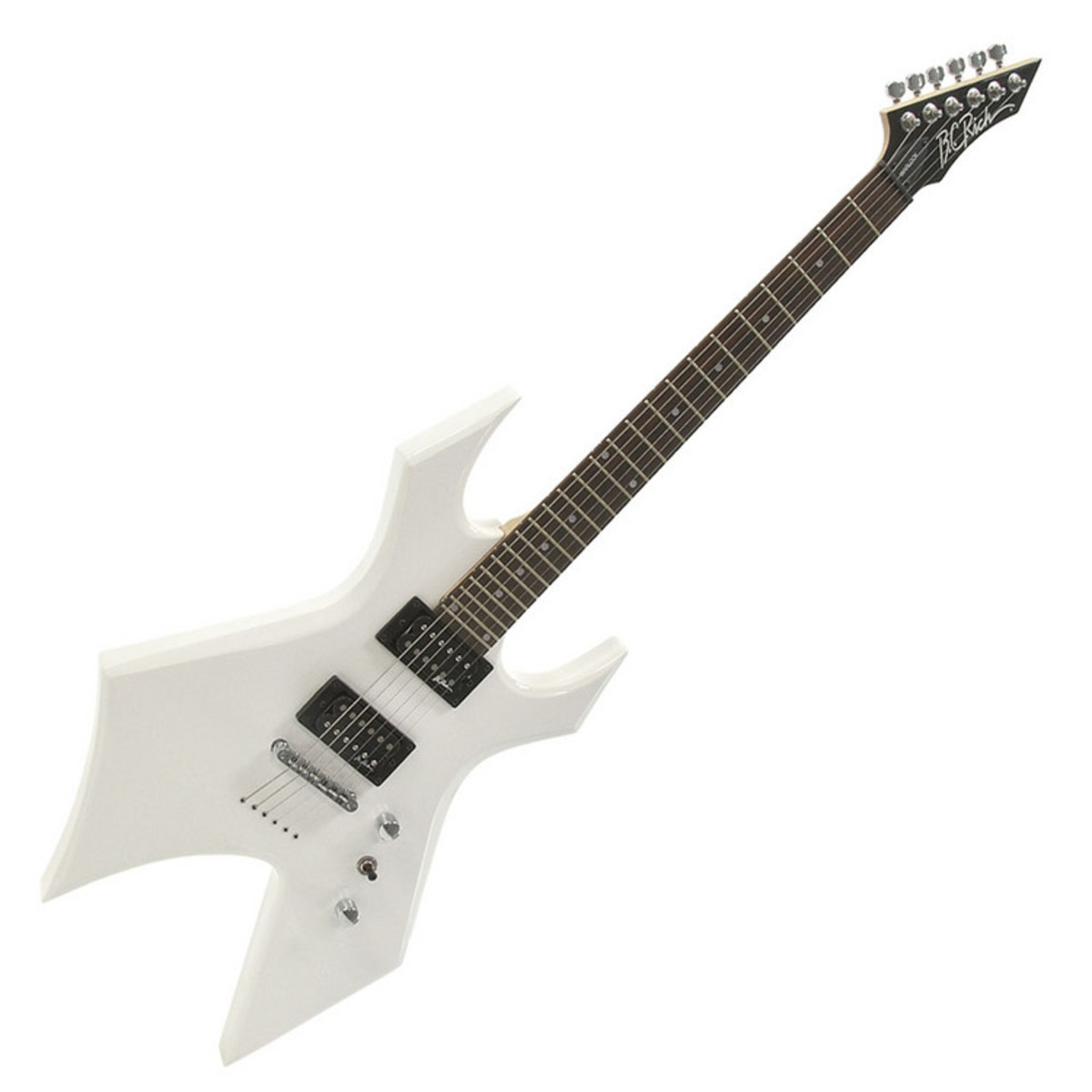 disc bc rich warlock one guitar white with multi fx pedal pack at. Black Bedroom Furniture Sets. Home Design Ideas