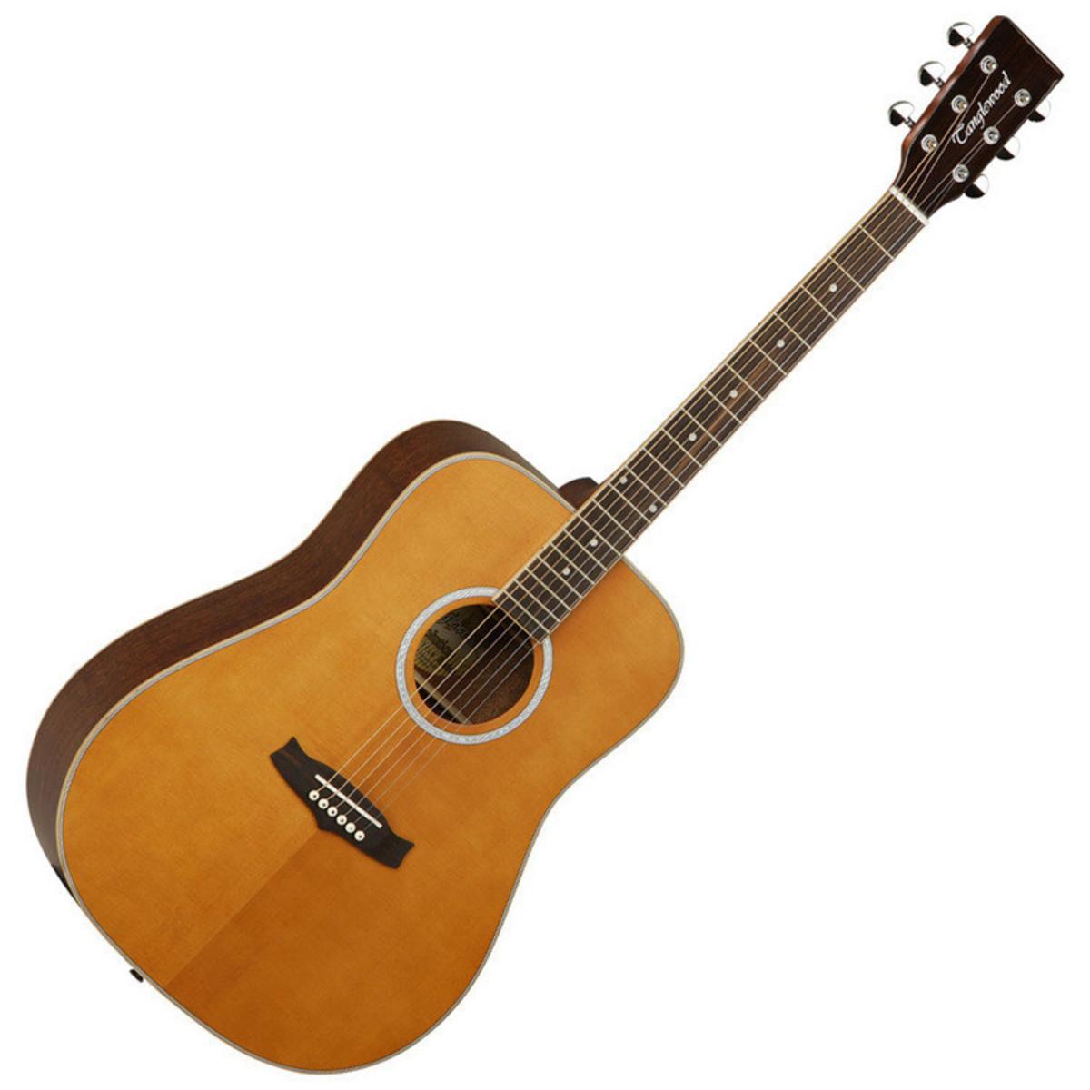 disc tanglewood evolution tw28 acoustic guitar natural free tuner at. Black Bedroom Furniture Sets. Home Design Ideas
