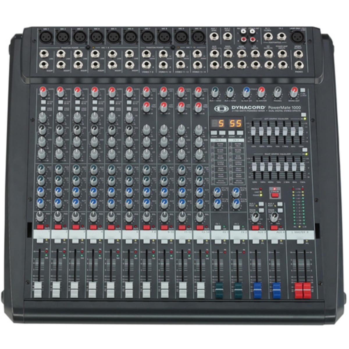 Table de mixage amplfi e dynacord powermate 1000 - Table de mixage dynacord occasion ...