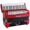Roland FR-8X V-Accordion, Tipo Pianos, Rojo