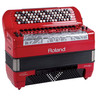 Roland FR-8X V-Accordion, Tipo Botón, Rojo