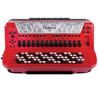 Roland FR-8x V-Accordion, Button-Type, Red