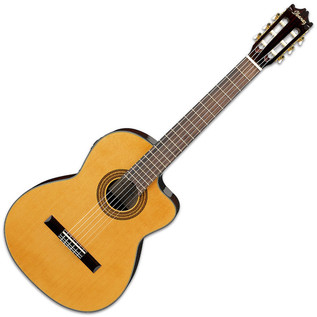 Ibanez GA6CE Electro Classical Guitar, Amber