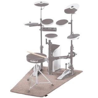 Roland TDM-3 V-Drums Mat, Light Brown