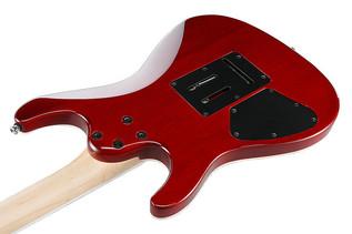 Ibanez SA360QM SA Series Electric Guitar, Trans Red Burst Back