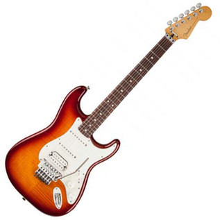 Fender Standard Strat HSS Plus Top RF, Locking Trem, Tobacco Burst