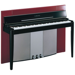 Yamaha F02 Modus Digital Piano, Polished Red - main
