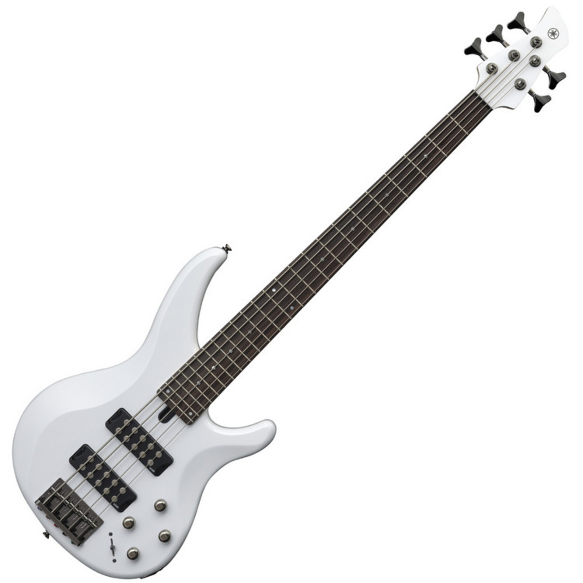 yamaha trbx305 5 cordes guitare basse blanc. Black Bedroom Furniture Sets. Home Design Ideas