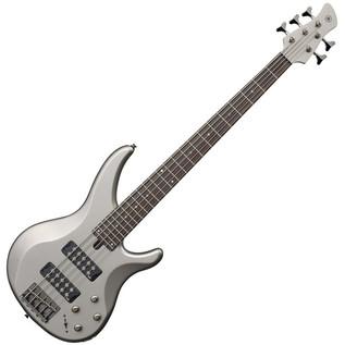 Yamaha TRBX305 5-String Bass Guitar, Pewter